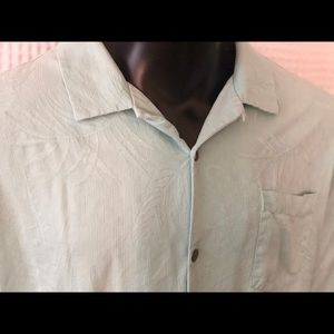 Tommy Bahama Button Up Silk Shirt